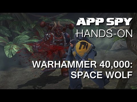 Warhammer 40,000: Space Wolf | iOS iPhone / iPad Hands-On - AppSpy.com