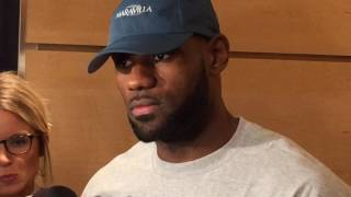 LeBron James on J.R. Smith's resurgence