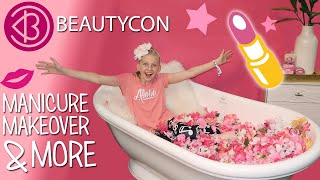 Tons of Makeup!!  Girls Day Out at Beautycon LA 2018