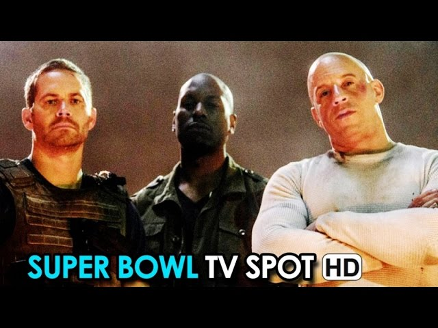 FAST & FURIOUS 7 Spot Tv Super Bowl V.O. (2015) - Vin Diesel HD