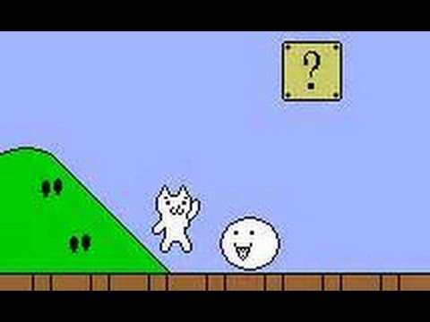 Cat Mario FUNNY RAGE THROWING GAME