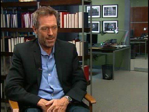 Hugh Laurie interview - RTL.de - Part 1