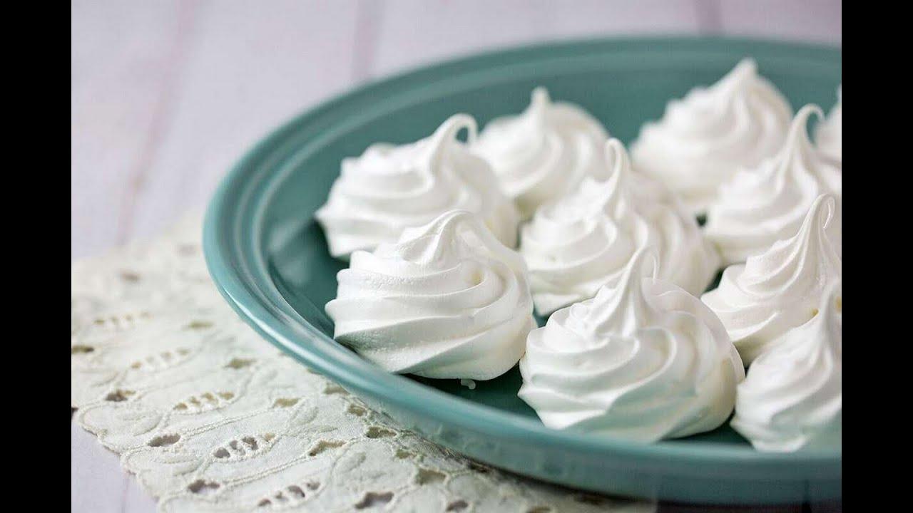 Как сделать безе в духовке фото рецепт