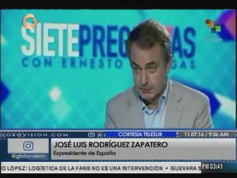 Zapatero: Ramos Allup es uno de los críticos más veteranos de Venezuela