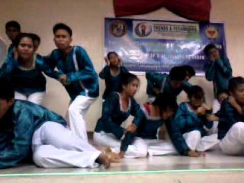Madulang sabayang bigkas ng mga BS Civil Eng' g students ng USEP, Obrero, Davao City