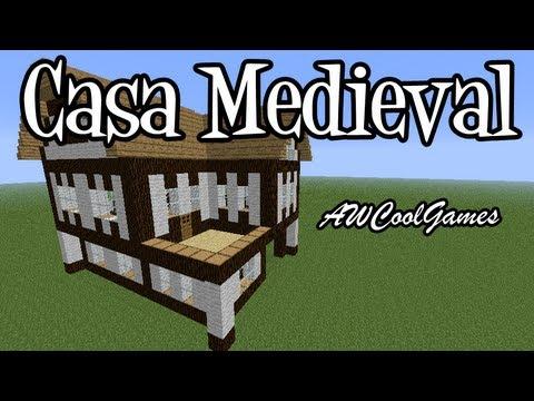 Tutoriais Minecraft: Como Construir uma Casa Medieval