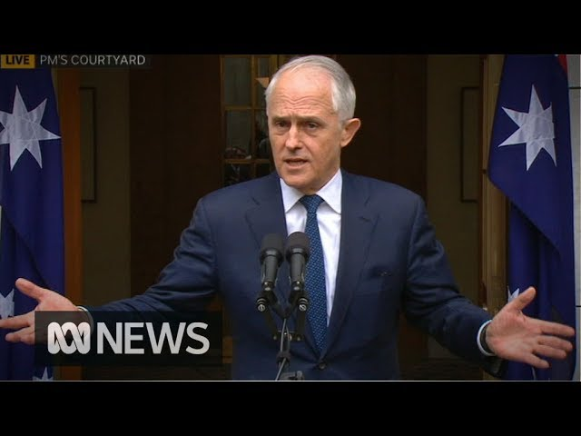 Show me the numbers: Prime Minister Malcolm Turnbull attempts to hold on to power