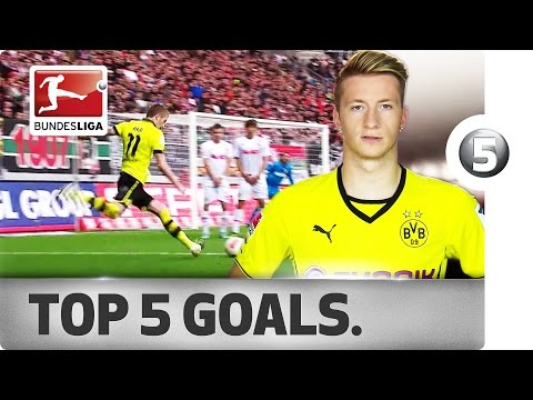 Marco Reus top five goals