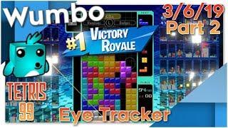 Tetris 99 - Flawless Stream 13 Win Streak - Wumbo 769 Wins
