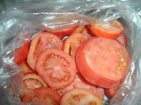 Заморозка помидоров на зиму в домашних условиях с отзывами