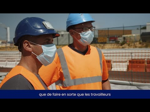 Face au Covid-19, CDG Express adopte des mesures sanitaires pour poursuivre le chantier en sécurité