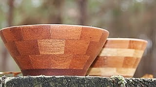 Segmented bowls the easy way | woodturning