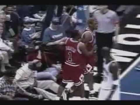 Dennis Rodman kicks cameraman