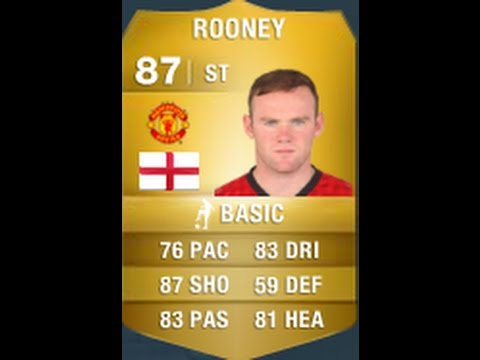 FIFA 14 ROONEY 87 Player Review & In Game Stats Ultimate Team