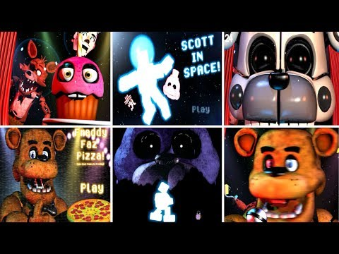 Scott Cawthon in Space! - FNAF 2018 Anniversary Game