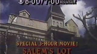 CBS Salem's Lot 1981 TV promo