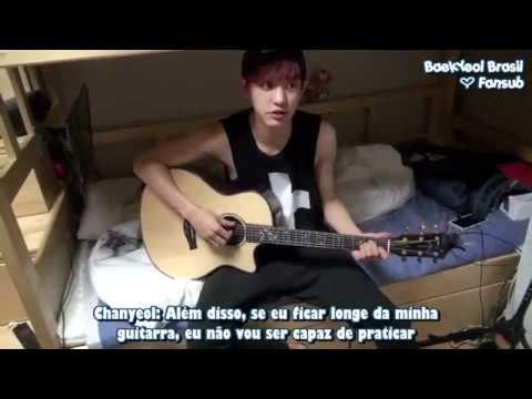 [04.04.14] Chanyeol revelando o dormitório do EXO [Legendado PT/BR]