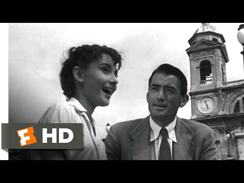 Roman Holiday (1/10) Movie CLIP - Take a Holiday (1953) HD