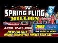 Spring Fling Million 2018 Las Vegas Wednesday mp3