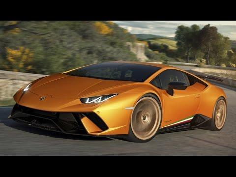 First Look: 2018 Lamborghini Huracan Performante