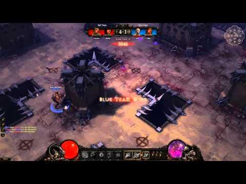 Diablo 3 PvP Arena (duel) HD