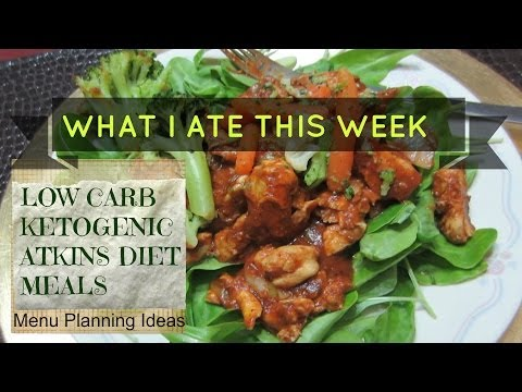 LOW CARB KETOGENIC DIET MEALS - Weight Loss Update