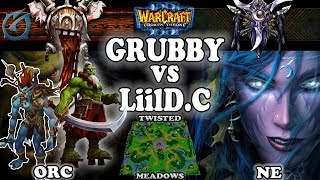 Grubby | Warcraft 3 TFT | 1.30 | ORC v NE on Twisted Meadows - Grubby vs LiilD.C