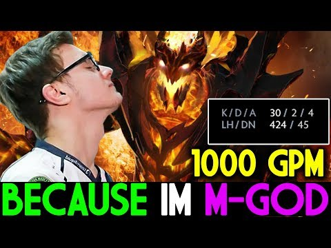 Miracle- Dota 2 [Shadow Fiend] Because I am M-God