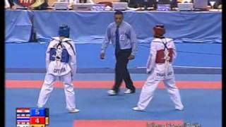 2007 world taekwondo championsh 62kg Male Final