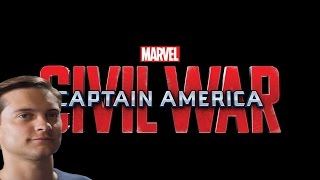 Captain America Civil War with Tobey Maguire