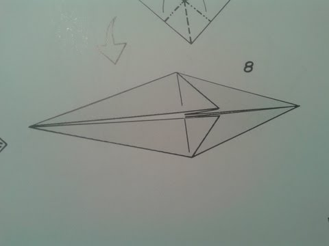 Origami para principiantes: #9 como hacer la base pez