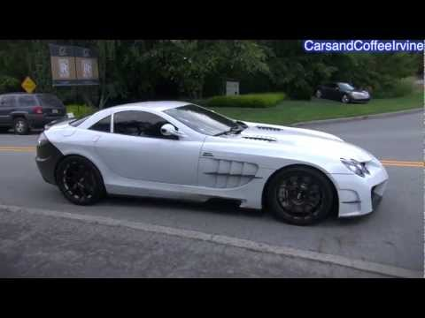 *Mansory* SLR McLaren SOUND Compilation! World's FASTEST and Loudest SLR! - Monterey 2012