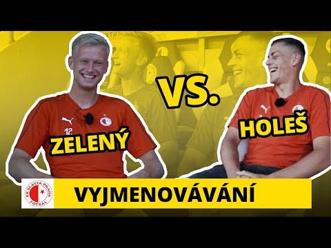 Vyjmenovávání na Slavii: Jaroslav Zelený a Tomáš Holeš