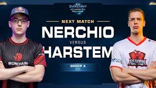 Harstem vs Nerchio PvZ - Group A Elimination - WCS Challenger EU Season 1