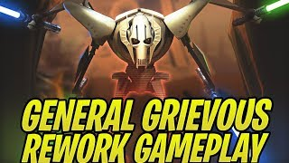 General Grievous Rework Gameplay Unveiling! | Star Wars: Galaxy of Heroes