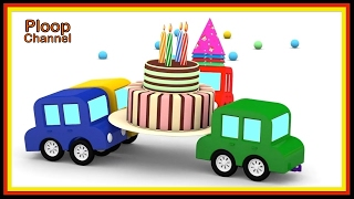 Cartoon Cars - BIRTHDAY Surprise! Cartoons for Children - Videos for Kids - Kids Cars Cartoons