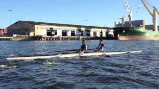 2012 MUBC Men's Pair Training