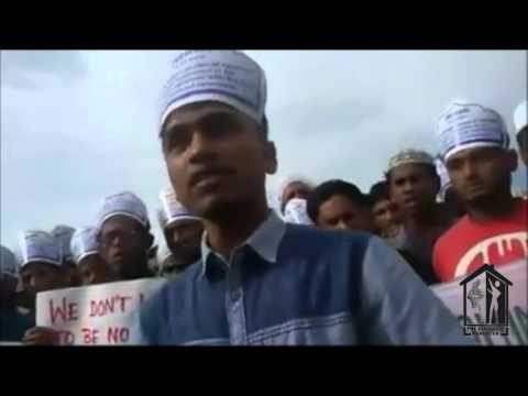 Rohingya Refugees Protest For Voting Right  - Part 1