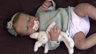 """Testing """"Drink & Wet System"""" - 22"""" Full Body Silicone Baby Doll Antoinette #5 of 6 By  An Huang"""