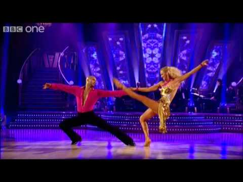 "http://www.bbc.co.uk/strictly Actor Ricky Whittle and his dance partner Natalie Lowe perform a Rumba to the song ""Stepping Stone"" by Duffy."