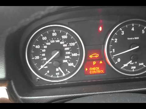 BMW 3 Series Battery Reset Procedure. Setting Time and Date. Description of Battery Problems