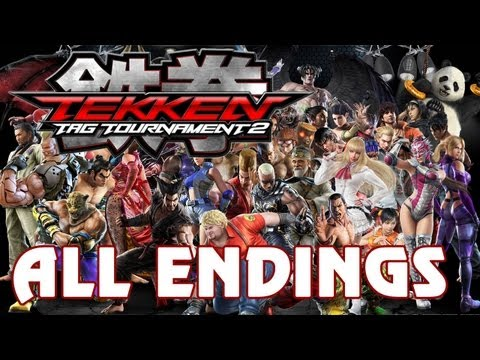 Tekken Tag Tournament 2 - 'all Character Endings' True-hd Quality video