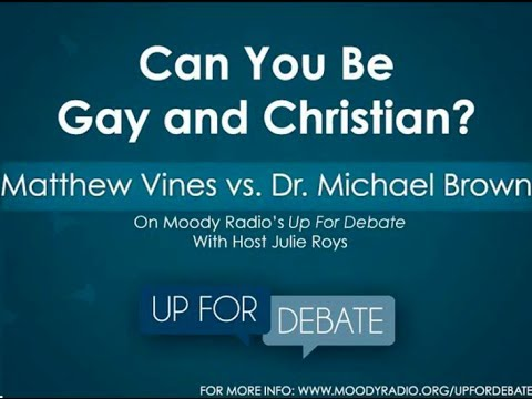 Can You Be Gay and Christian? - Dr. Michael Brown debates Matthew Vines