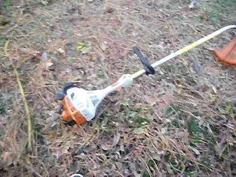 FS-45C STIHL Weed-Eater Cold Start(Friend-Requested)