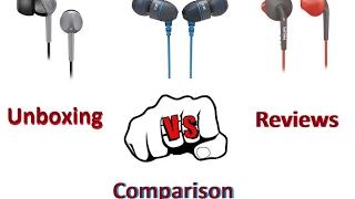 sennheiser cx180 VS boat basshead 225 VS philips sports earphones shq1200