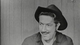 What's My Line? - Richard Boone; Van Heflin [panel] (Jan 18, 1959)