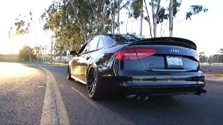 Insane Vader Audi S4 (B8.5) 3.0 V6T w/ Armytrix Cat-Back Variable Exhaust
