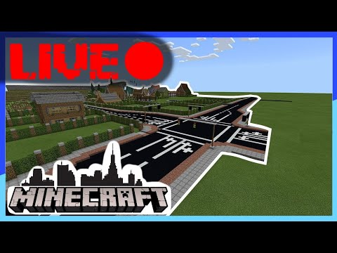 Minecraft Community Stadt | Live! 🔴