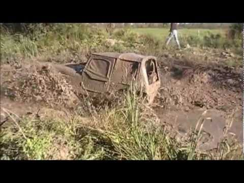 DEEP Mud Monster 4x4 Jeep How it's done{Insane Driver at The Wheel}