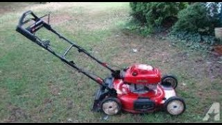 free pile toro mower, will it run?